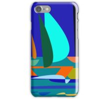 cute sailboat iPhone Case/Skin