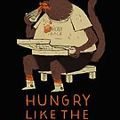 hungry like the wolf(black) by louros