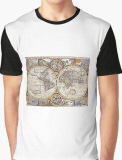 World Map Graphic T-Shirt