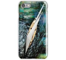 aerial sailboat picture iPhone Case/Skin