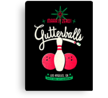 Gutterballs Canvas Print