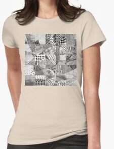 Collaboration Test Womens Fitted T-Shirt