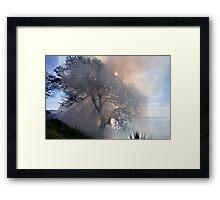 Smoky...... Framed Print
