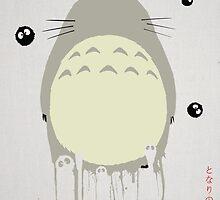Tonari No Totoro by DaveBot