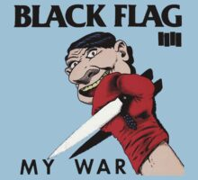 black flag my war blue sky by CORDERA