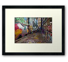 Urban Colour Framed Print