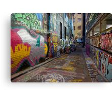 Urban Colour Canvas Print