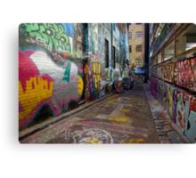 Urban Colour Canvas Print