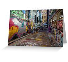 Urban Colour Greeting Card
