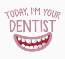 Today, I'm your DENTIST with cute smiley teeth mouth by jazzydevil