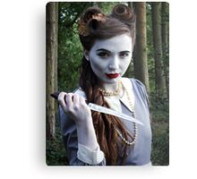 Undead Housewife. Metal Print