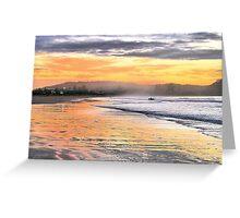 Sunrise Surfer Greeting Card