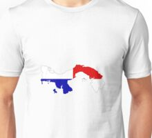 Panama Flag Map Unisex T-Shirt
