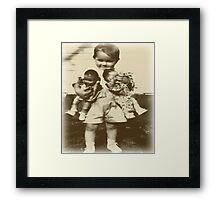Baby Dolls Framed Print