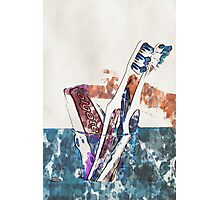 Toothbrushes and paste - 2 Photographic Print