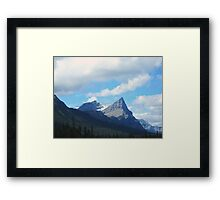 Icefields Parkway in the Fall Framed Print