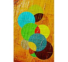 oil paint abstract Photographic Print