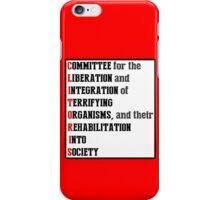 Red Dwarf - C.L.I.T.O.R.I.S. iPhone Case/Skin