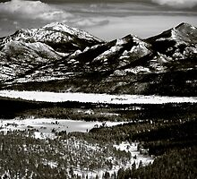Rocky Mountains Spring by Roger Passman