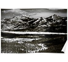 Rocky Mountains Spring Poster