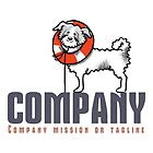 Rescued Dog 1/Orange Ready-Made Pet Business Logo by offleashart