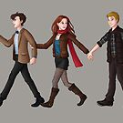 Team TARDIS by eclecticmuse