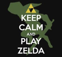Keep calm and play Zelda! by zeldaddicted