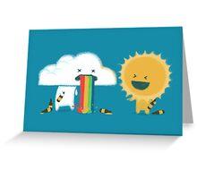 Binge drinking - such friend Greeting Card
