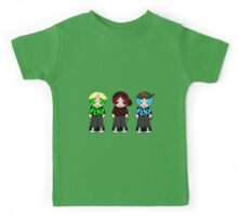 Turtle Rowdyruff Boy team! Kids Tee