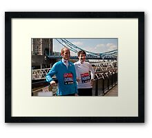 Scott Overall & Chris Thompson Framed Print