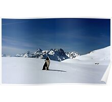 Ski touring in the French Alps with Django Poster