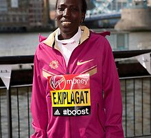 london Marathon  Edna Kiplagat  Kenya by Keith Larby
