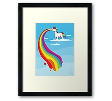 Where Rainbows Come From Framed Print