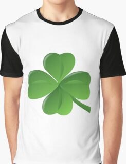Four Leaf Clover Graphic T-Shirt