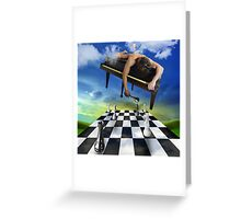 the pianist 2 Greeting Card