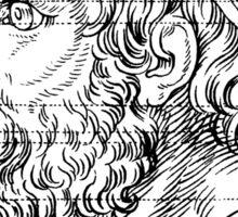 Lion Profile Sticker