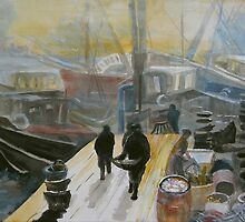 Herring Dock by Adele Gregory