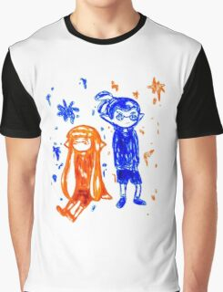 Ink Sketch Graphic T-Shirt