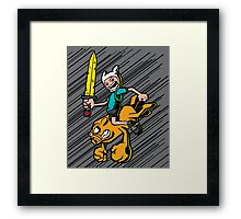 Time Bomb! Framed Print