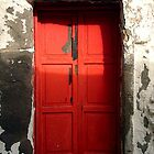 red door in Bodrum by habish