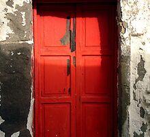 red door in Bodrum by habish