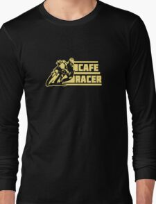 cafe racer vintage biker Long Sleeve T-Shirt
