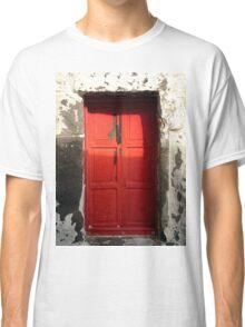 red door in Bodrum Classic T-Shirt