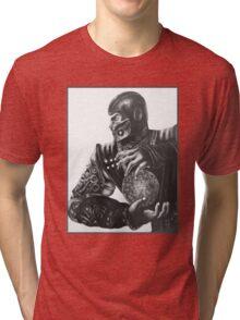Sub Zero MORTAL KOMBAT MK Tri-blend T-Shirt
