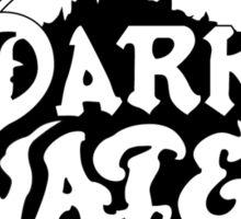 Pirates of Dark Water - b&w logo Sticker