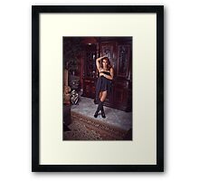 its time Framed Print