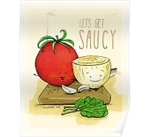 Let's Get Saucy! Poster