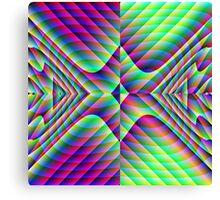 Mirrored Arrowheads Canvas Print