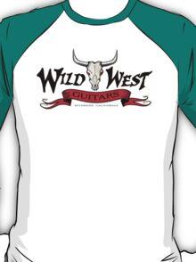 Wild West Guitars Bull Head Logo 2.0 T-Shirt