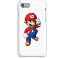 Mario phone case iPhone Case/Skin
